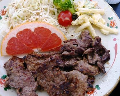 あんしん亭:焼き肉定食3