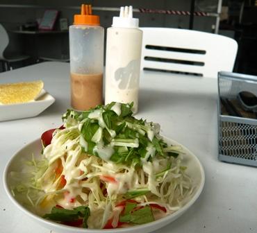 WHITE BASE:サラダ