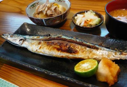 かなざわ:秋刀魚塩焼き