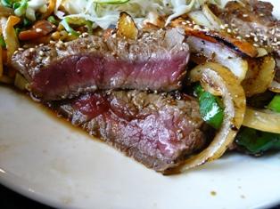 河伯菜館:焼き肉定食2