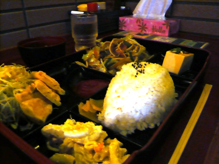 GOLD ON:野菜炒め定食
