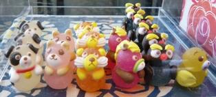 メームイ製菓大川店:ケーキ装飾用ゼリー