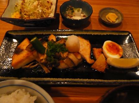 Natu yuki:メカジキバター焼き定食2