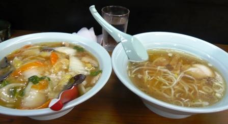太門:中華丼+半ライス