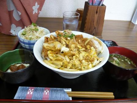 福屋食堂:かつ丼定食