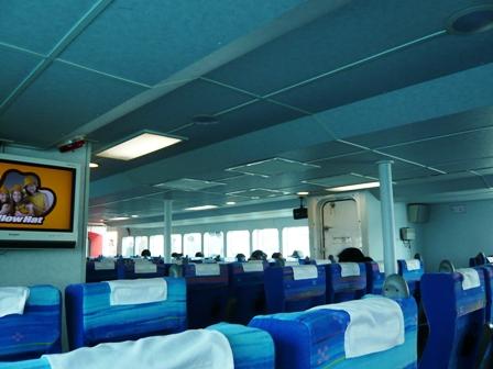 安栄観光船内