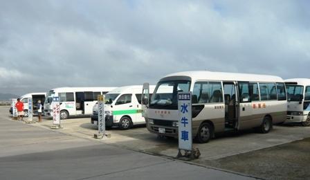 竹富島東港バス乗り場