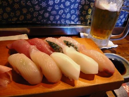 琉球の爺:寿司盛り合わせ1