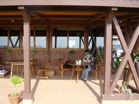 のんびりカフェ:テラス席