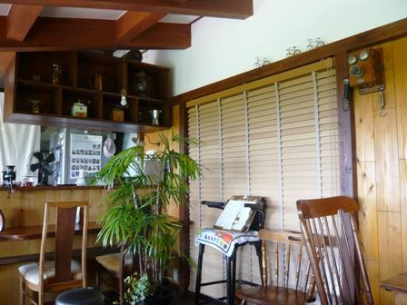 のんびりカフェ:店内