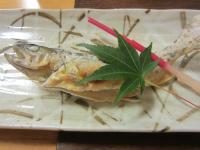 焼き物 山女魚の塩焼き