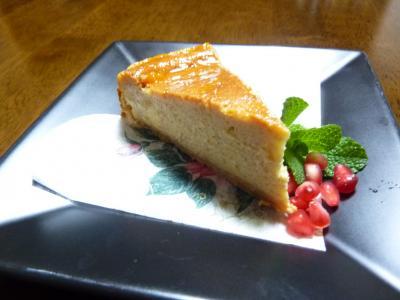 キャラメルバナナチーズケーキ2