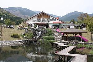 那岐山麓山の駅1