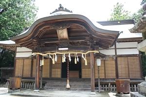 岩部八幡神社1