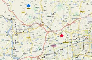 吉備津神社Map