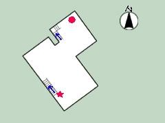 道明寺家平面図2
