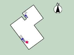 道明寺家平面図1