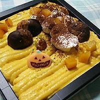 かぼちゃのプディングケーキ