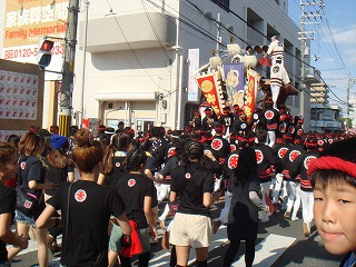 岸和田のだんじり祭り03