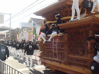 岸和田のだんじり祭り06