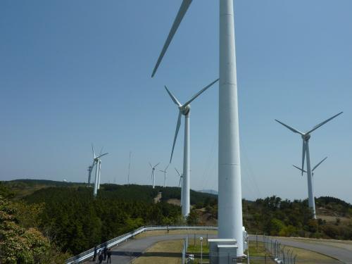 青山高原の風車