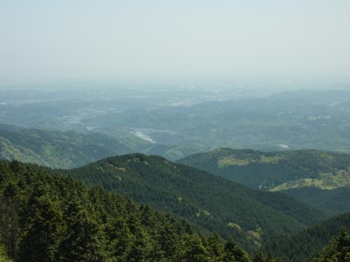 青山高原から見下ろす