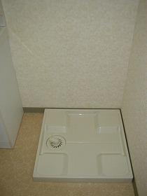 洗濯機置き場で水漏れ安心