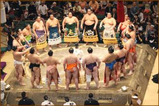 20130523 幕内土俵入り 3 お相撲