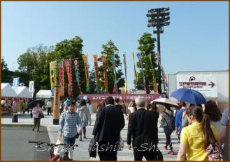 20130524 駅前 お相撲