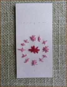 20130526 試し刺し 紙刺繍