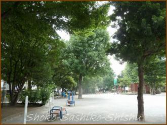 20130817 公園 2 落馬地蔵