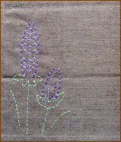 20130821 途中模様  紫の花
