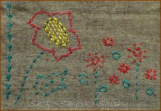 20130825 出来上り模様 3 赤い花