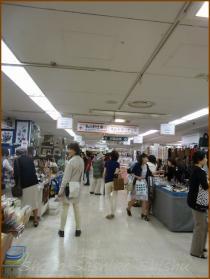 20130828 店 1  針仕事展