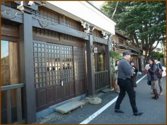 20131119 玄関 外出 日本画
