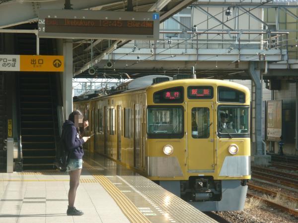 2014-10-25 西武2087F 急行飯能行き 2123レ