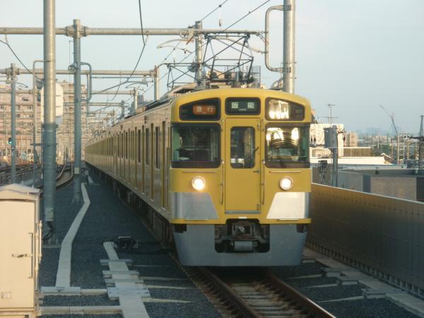 2014-10-25 西武2453F+2533F+2531F 急行飯能行き1 2149レ