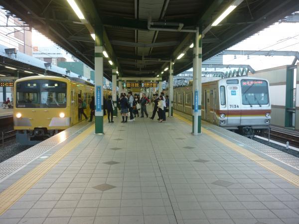 2014-10-25 西武3009F メトロ7134F