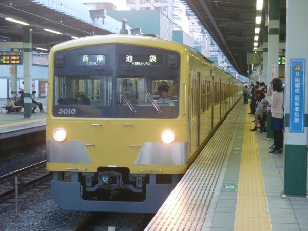 2014-10-25 西武3009F 各停池袋行き 5114レ