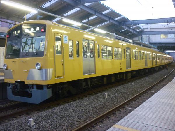 2014-10-25 西武3009F 各停豊島園行き 5493レ