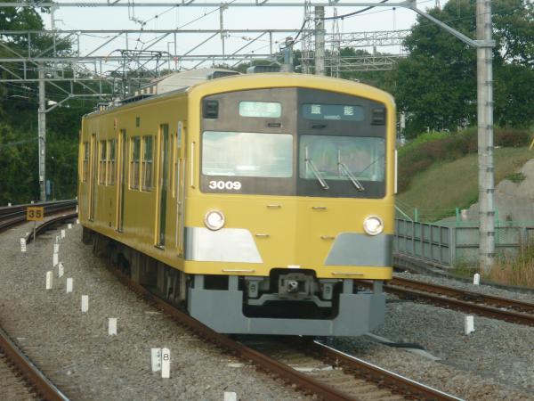 2014-10-25 西武3009F 準急飯能行き 4137レ