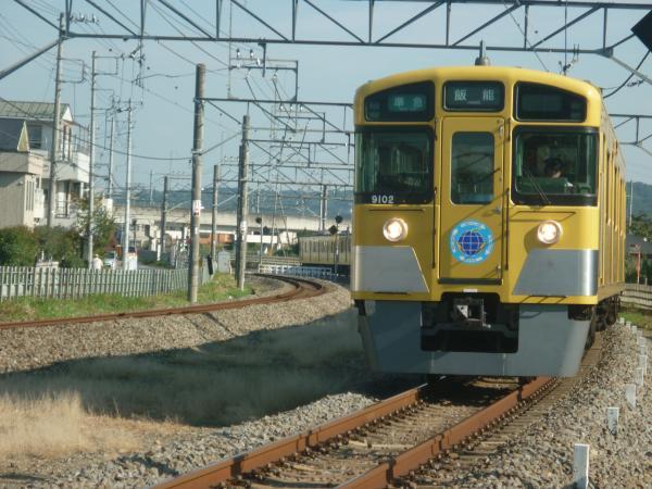 2014-10-25 西武9102F 準急飯能行き 4129レ