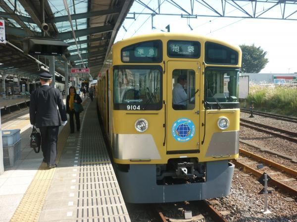 2014-10-25 西武9104F 準急池袋行き 4124レ