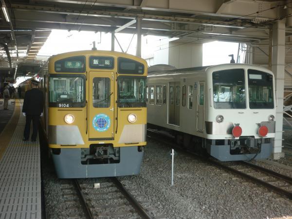 2014-10-25 西武9104F 準急飯能行き3 4125レ