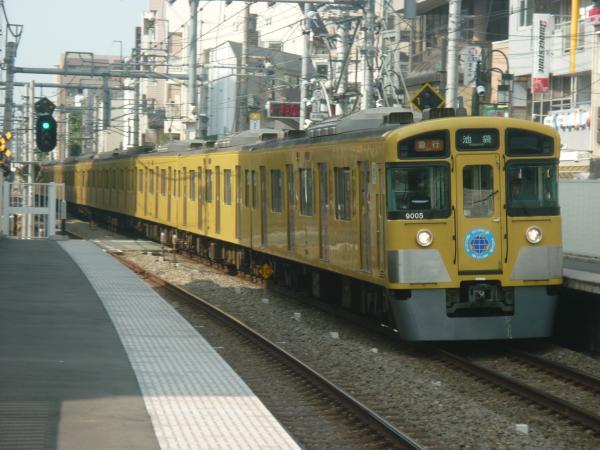 2014-10-25 西武9105F 急行池袋行き 2128レ