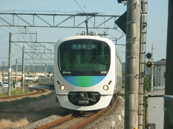 2014-10-25 西武32105F+38109F 準急飯能行き 4131レ