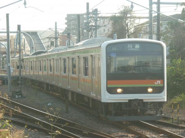 2014-10-25 八高線209系ハエ64編成 川越行き