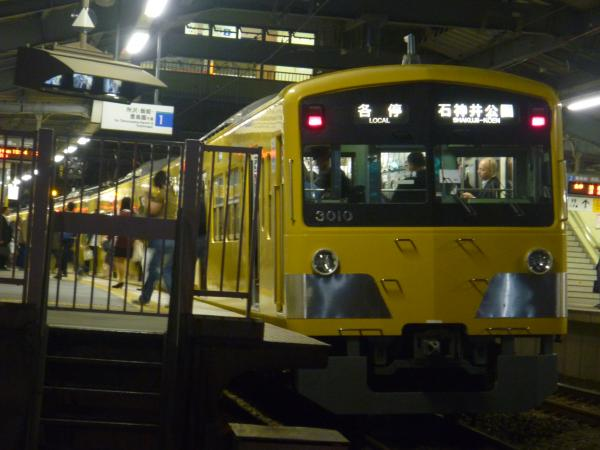2014-10-29 西武3009F 各停石神井公園行き1 5617レ