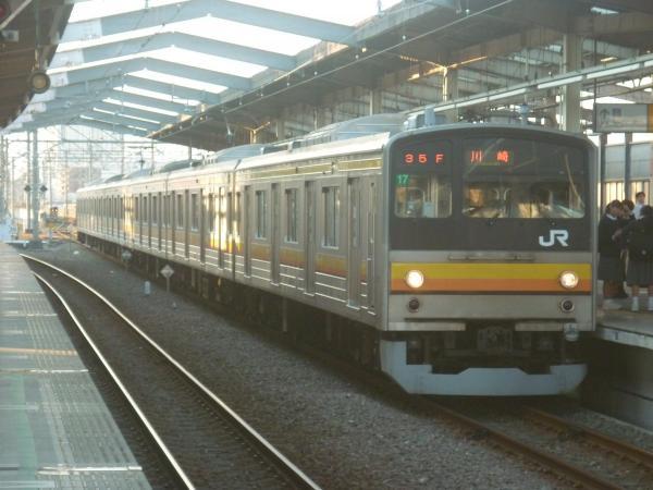 2014-10-17 南武線205系ナハ17編成 川崎行き1