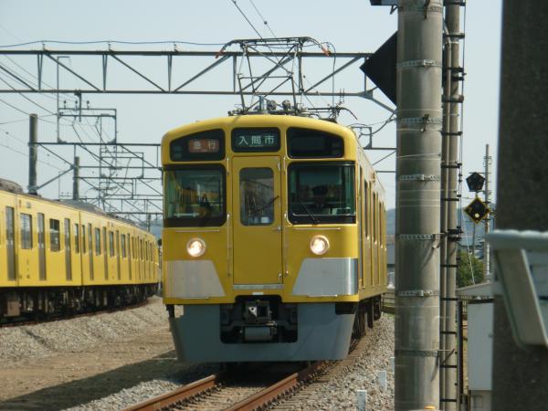 2014-03-28 西武2455F+2089F 急行飯能行き 2135レ